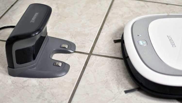 wisch und saugroboter staubsauger mit cleanmaxx. Black Bedroom Furniture Sets. Home Design Ideas