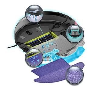 Moneual Wischroboter Reinigungsprogramme