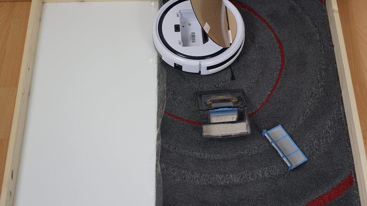 iLife-V5s-Pro-Saugtest-Kurzfloor-nachher