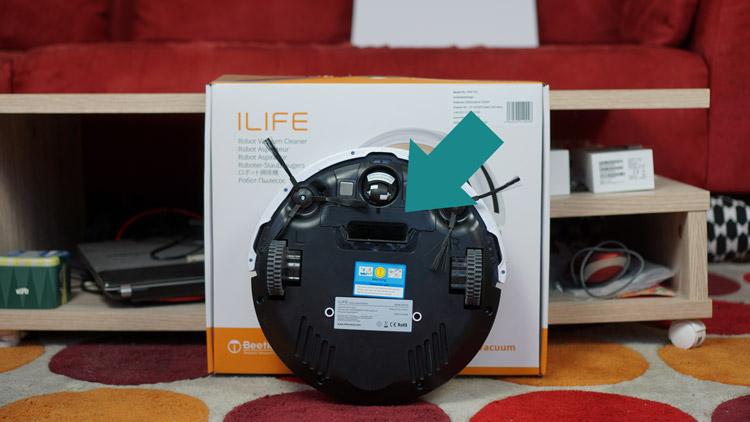 iLife-V5s-Pro-von-unten-mit-Direktabsaugung