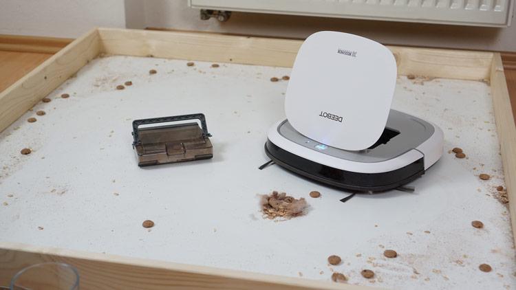 Deebot-Slim-2-Hartboden-Saugtest-nachher