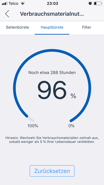 App-Screenshot-Verbrauchsmaterialnutzung-Hauptbuerste