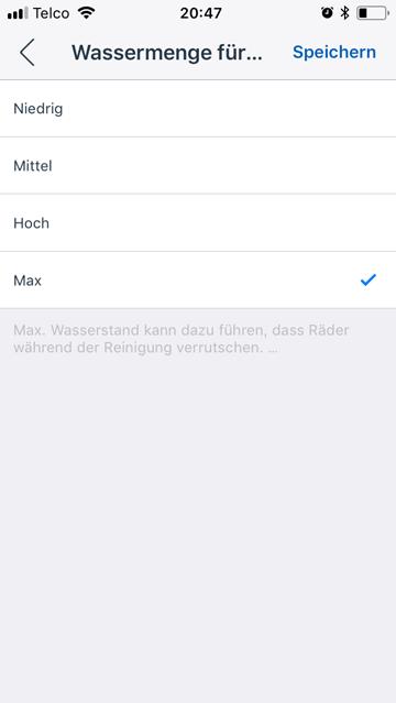 Screenshot-App-Wassermenge-kann-frei-reguliert-werden