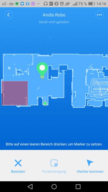 Roborock-S5-an-bestimmten-Ort-schicken-Mi-Home-App