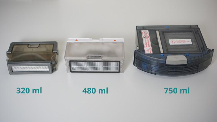 Saugbehaelter-unterschiedliche-Groeßen-im-Vergleich