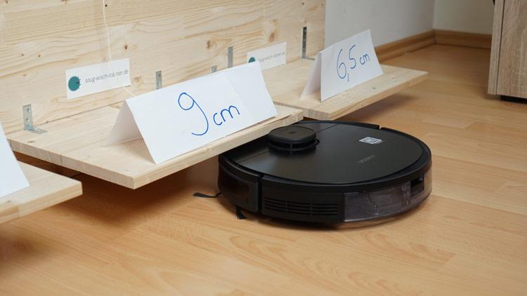 Ozmo 950 unterfaehrt 9cm nur fast