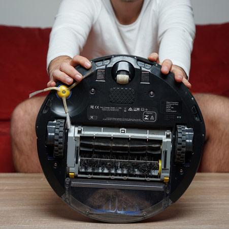 iRobot Roomba 615 von unten Galerie