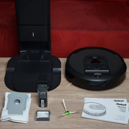 iRobot Roomba i7+ Lieferumfang galerie