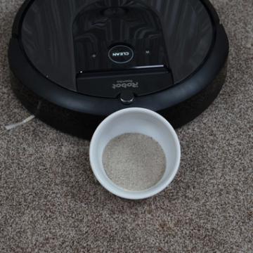 iRobot Roomba i7+Teppich Test galerie