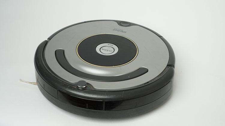 Detailaufnahme iRobot Roomba 615
