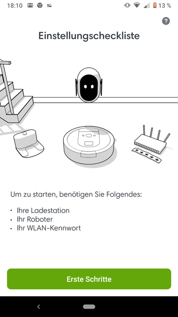 App-i7+-um-Robo-verbinden-zu-koennen
