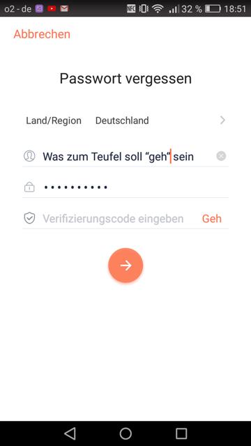 Tesvor-App-Problem-mit-Passwort-vergessen
