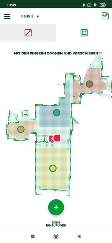 Raumeinteilung