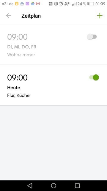 App iRobot Zeitplanung