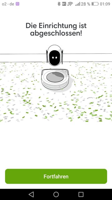 iRobot-App-Einrichtung-abgeschlossen