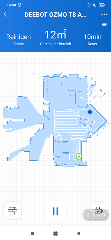 App-Ecovacs-T8-Karte-erstellen