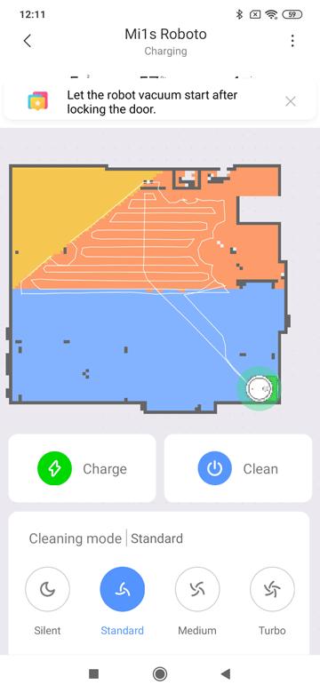 Xiaomi-App-Mi1s-Karteneinteilung