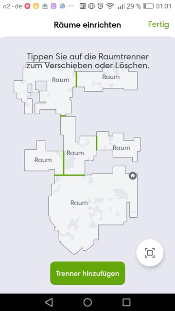 iRobot-App-Raumteilung