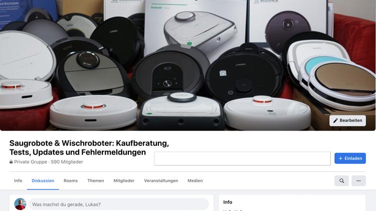 Saugroboter-Forum-Gruppen-Titelbild