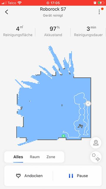 Roborock-S-Karte-wird-erstellt