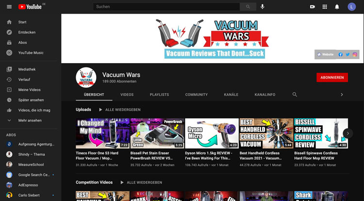 Vacuum-Wars-YouTube